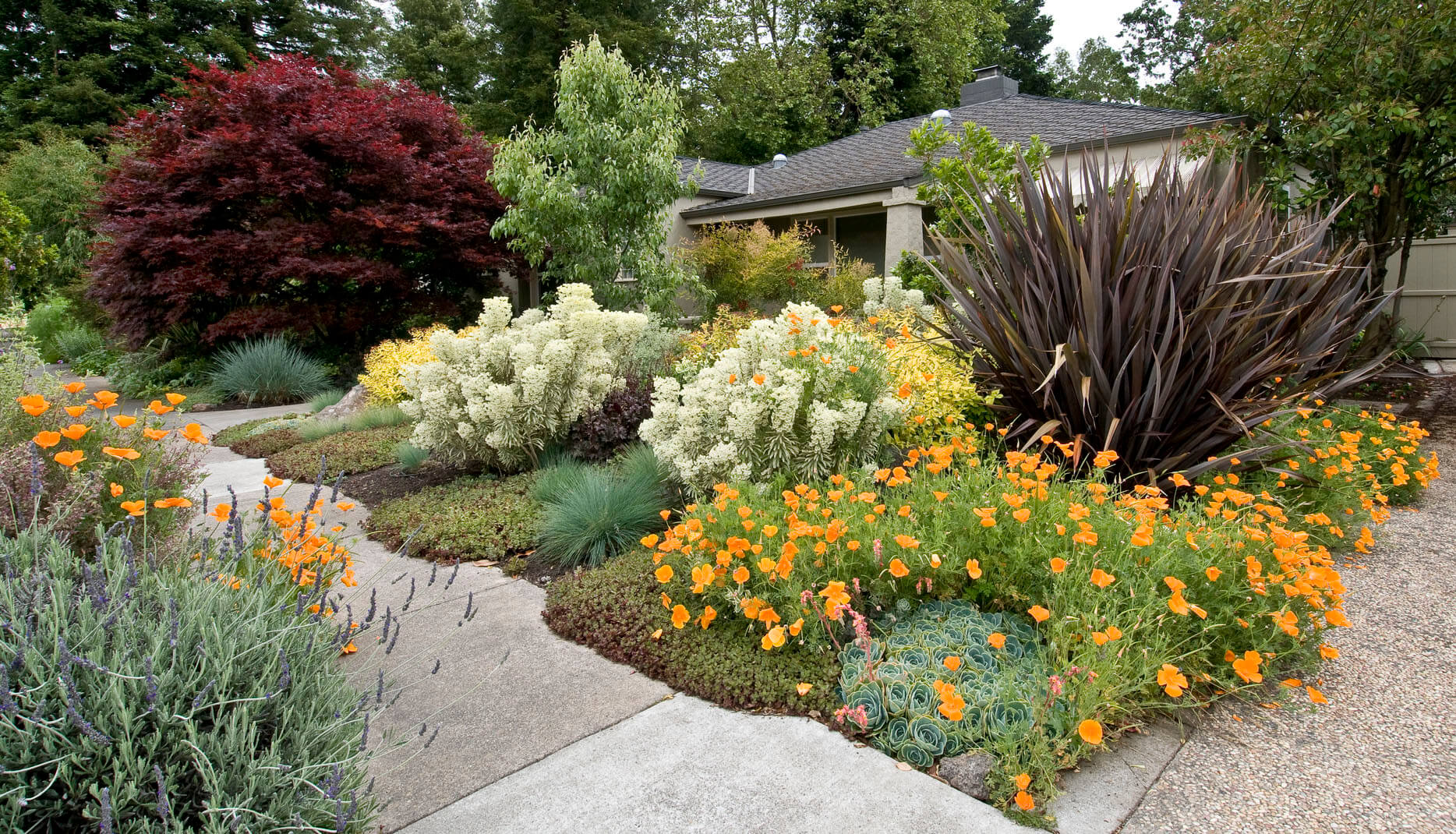 Four sons landscape maintenance for all your for Flower garden designs and layouts